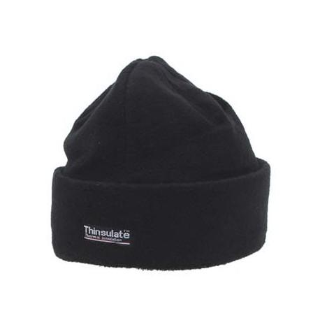 Зимняя шапка флис+Thinsulate, черная. Германия MFH.
