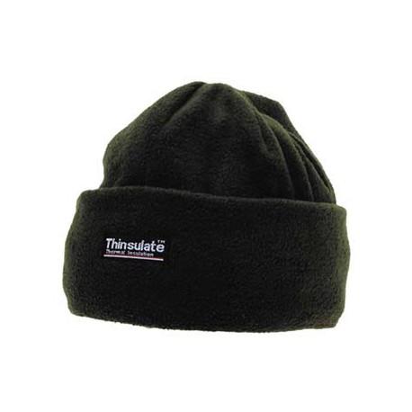 Зимняя шапка флис+Thinsulate, олива. Германия MFH.