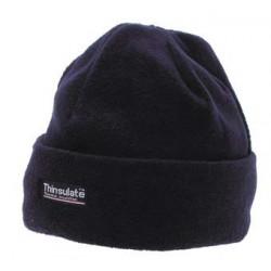 Зимняя шапка флис+Thinsulate, синяя. Германия MFH.