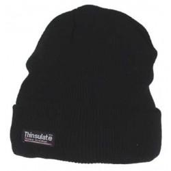 Зимняя шапка акрил+Thinsulate, черная. Германия MFH.