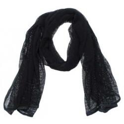 Маскировочный шарф-сетка Черный