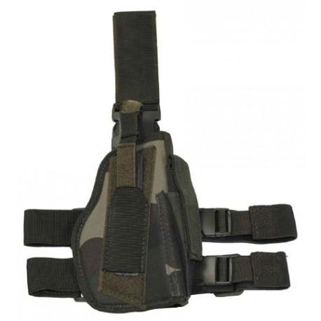 Пистолетная кабура набедренная правосторонняя, CCE-camo