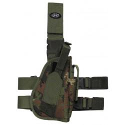 Пистолетная кабура набедренная правосторонняя, vegetato,