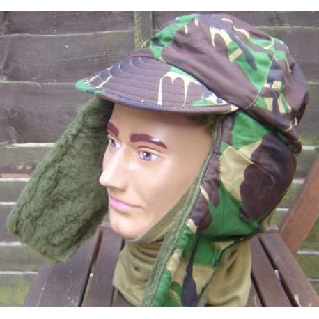 Зимние шапка на меху, в расцветке DPM.